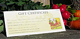 Gifts certificates are available at Nash's Farm Store.
