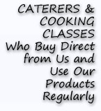 Caterers and Cooking Classes