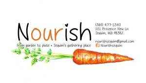 Nourish Restaurant in Sequim, WA