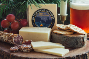 Cheese from Mt Townsend Creamery
