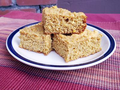 Baked goods using freshly ground flour