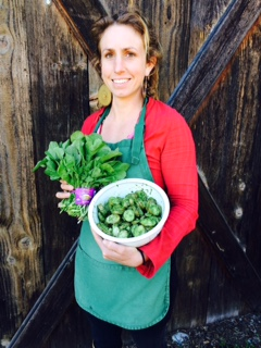 Produce Manager Eliza Winne loves arugula (aka rocket).  Check out her Rocket Sauce recipe!