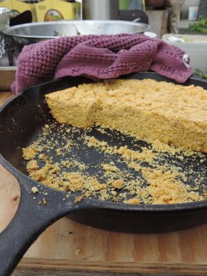 skillet cornbread