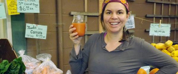 Julia with juice