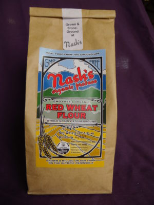 2 pound package of hard red wheat flour
