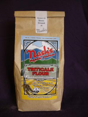 Triticale flour, 2 pound package